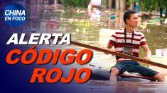 China en Foco: Persisten las lluvias e inundaciones en China; Ciudadanos desalojados a la fuerza