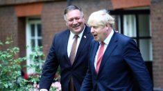 Pompeo se reúne en el Reino Unido con el primer ministro Boris Johnson para hablar acerca de China