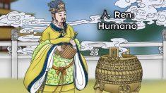 人 Ren: el carácter chino que representa a un ser humano recto y humilde