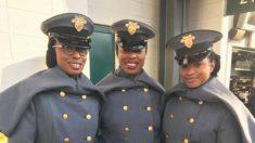 Tres hermanas asisten juntas a West Point siguiendo los pasos de su madre en el ejército
