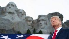 Trump anuncia la creación de un nuevo monumento: el Jardín Nacional de los Héroes Estadounidenses