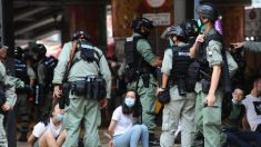 Policía de Hong Kong arresta a más de 70 personas tras promulgación de la ley de seguridad nacional