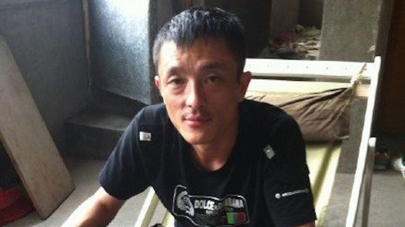 """Lu Yuyu, activista chino y fundador del medio de comunicación ciudadano: """"Not The News"""", en una foto sin fecha. Lu estuvo encarcelado durante cuatro años y sufrió tortura en prisión. (Cortesía: Lu Yuyu)"""