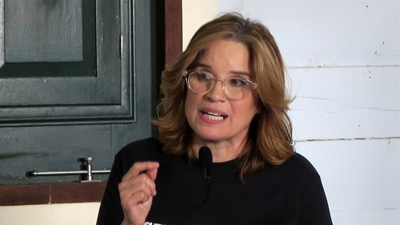 En la imagen, la alcaldesa de San Juan (Puerto Rico), Carmen Yulín Cruz. EFE/Jorge Muñiz/Archivo
