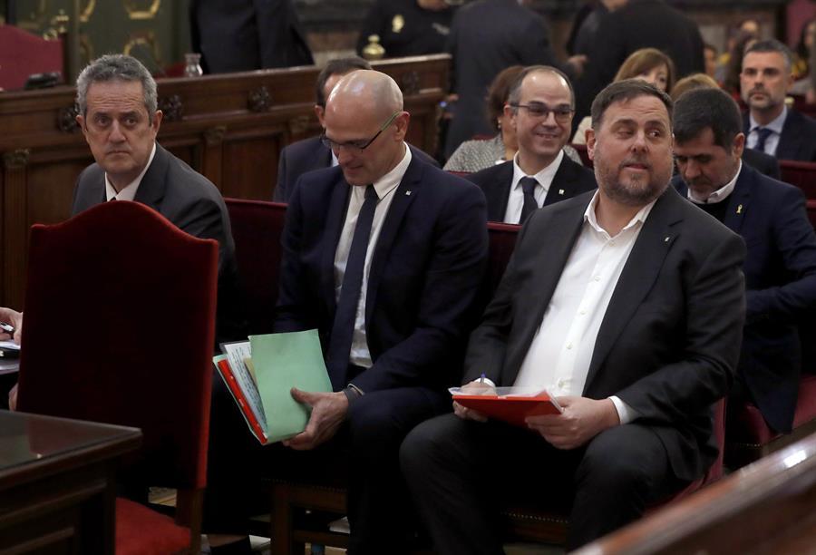 El Supremo español revoca el tercer grado a los políticos presos catalanes