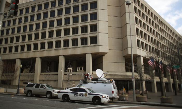 El cuartel general del FBI en una imagen de archivo del 2 de febrero de 2018 en Washington. (Mark Wilson/Getty Images)