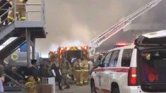 Marineros resultan heridos por explosión e incendio en buque de guerra en San Diego, según autoridades