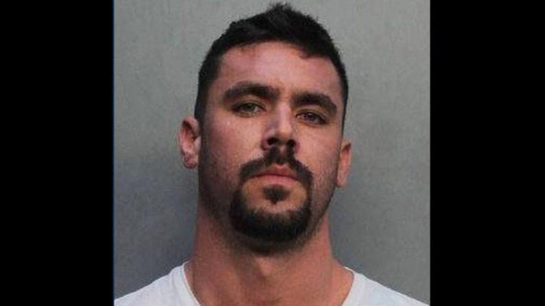 David Hines en una foto de registro. (Policía de Miami)