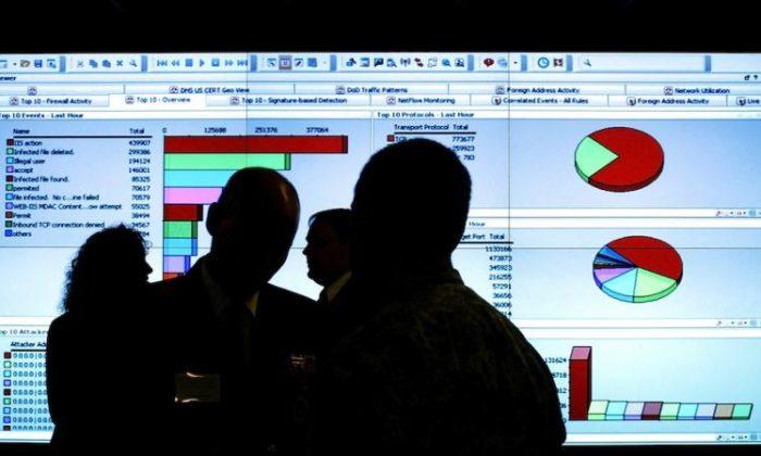 Un evento de seguridad nacional para las instalaciones del Centro de Integración de Ciberseguridad y Comunicaciones. La semana pasada, el Comité del Senado sobre Seguridad Nacional y Asuntos Gubernamentales aprobó un amplio proyecto de ley de ciberseguridad por unanimidad. (Win McNamee / Getty Images)