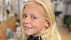 """Niño soporta burlas por """"parecerse a una niña"""" para donar cabello a organización contra el cáncer"""