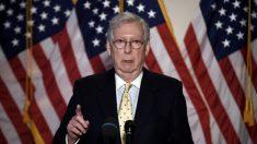 McConnell dice que espera una dura lucha en la Corte Suprema para reemplazar a Ginsburg