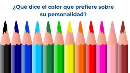 Este test de color revelará todo lo que necesita saber sobre sus rasgos de personalidad dominante