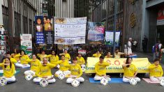 Meditación y vigilia en México piden fin a 21 años de persecución a Falun Dafa en China