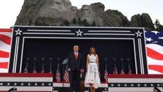 Gobernadora dice que no hubo brote del virus tras el evento en el Monte Rushmore al que asistió Trump