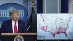 Trump desaconseja los cierres permanentes e insta a la reapertura de las escuelas