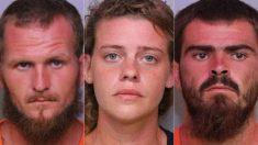 Imágenes muestran a sospechosos de la masacre de Florida con una de las víctimas en Dollar General
