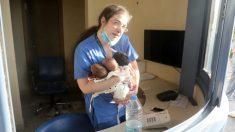 """""""Poseía una fuerza oculta"""": Enfermera saca 3 recién nacidos de hospital afectado por explosión de Beirut"""