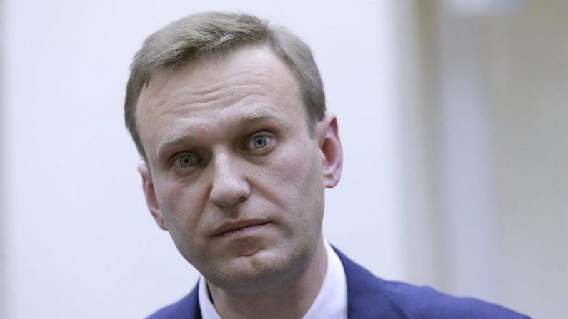 El líder opositor ruso Alexéi Navalni. EFE/EPA/MAXIM SHIPENKOV/Archivo