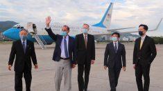 Azar encabeza la delegación de más alto nivel de EE.UU. en Taiwán en décadas
