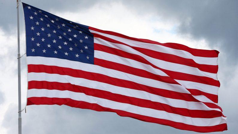 Una bandera estadounidense en una fotografía de archivo. (Tom Pennington/Getty Images)