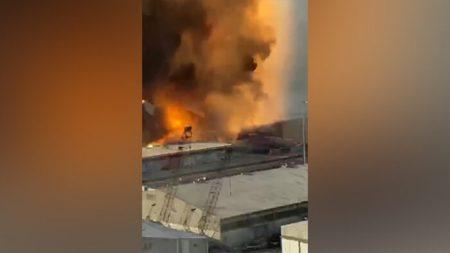 Pareja sobrevive a la explosión en Beirut, a pesar de estar a menos de 600 metros del epicentro