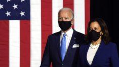 Biden y Harris hacen su primera aparición en una campaña pública