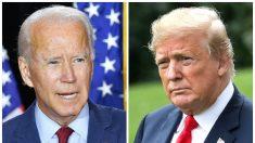 Trump y Biden están empatados en 4 estados disputados, según una nueva encuesta