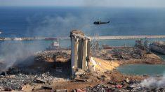 Encuentran vivo luego de 30 horas a trabajador del puerto de Beirut arrojado al mar por explosión