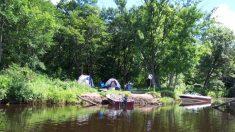 Remar y acampar a lo largo de los panorámicos ríos de Estados Unidos