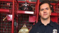 Bombero rescata perro de veterano durante un incendio, 21 años después que salvaran a su cachorro