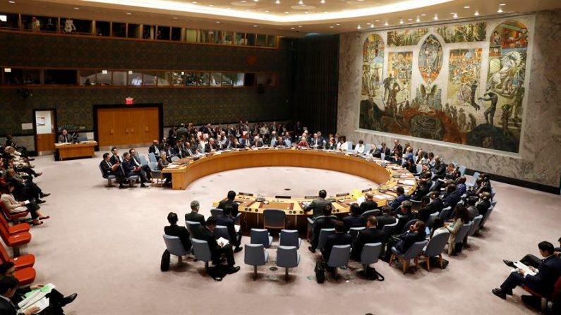 Vista general de una reunión del Consejo de Seguridad de la ONU. EFE/Jason Szenes/Archivo