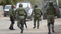 Ocho presuntos sicarios mueren en choque con militares en noreste de México
