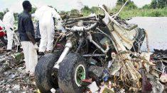 Mueren siete ocupantes al estrellarse un avión en la capital de Sudán del Sur