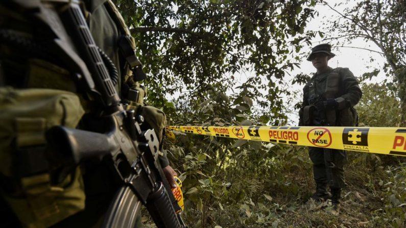 Cuatro personas fueron asesinadas por hombres armados en una finca del municipio de Santander de Quilichao, en el departamento colombiano del Cauca (suroeste), según informaron autoridades locales. (Luis Robayo/AFP vía Getty Images/Archivo)