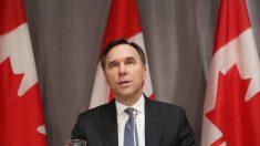 Ministro de Finanzas de Canadá dimite inesperadamente en medio de escándalo