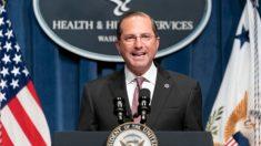 Secretario de Salud viajará a Taiwán tras cuatro décadas sin visitas de altos funcionarios de EE.UU.