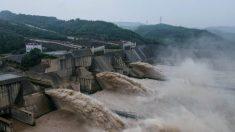 China: Fuertes lluvias azotan la cuenca del río Amarillo que provocan inundaciones en varios lugares
