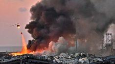Más de 50 muertos y 2750 heridos por la explosión en el puerto de Beirut