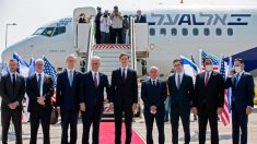 Llega a Abu Dabi el primer vuelo comercial entre Israel y Emiratos