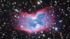 """Astrónomos capturan foto de una """"mariposa espacial"""" a miles de años luz de distancia"""