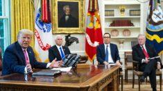 """Casa Blanca """"no es optimista"""" sobre un acuerdo a corto plazo para ley de alivio por virus del PCCh"""
