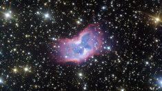 """Capturan imagen nunca vista de la """"mariposa espacial"""" a miles de años luz de distancia"""