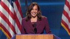 Kamala Harris acepta la nominación demócrata para postularse como vicepresidenta
