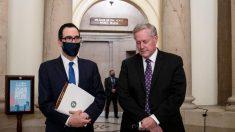 """Hay progreso en proyecto de ley por pandemia pero todavía """"no es inminente"""" un acuerdo, dice Meadows"""