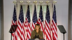 Melania Trump destaca la crisis de salud mental y de los opioides en EEUU en su discurso en la RNC