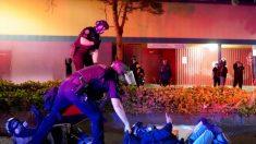 La policía estatal de Oregon se retira de Portland y los disturbios continúan
