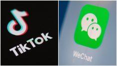 Trump ordena prohibir las transacciones con las empresas matrices de TikTok y WeChat