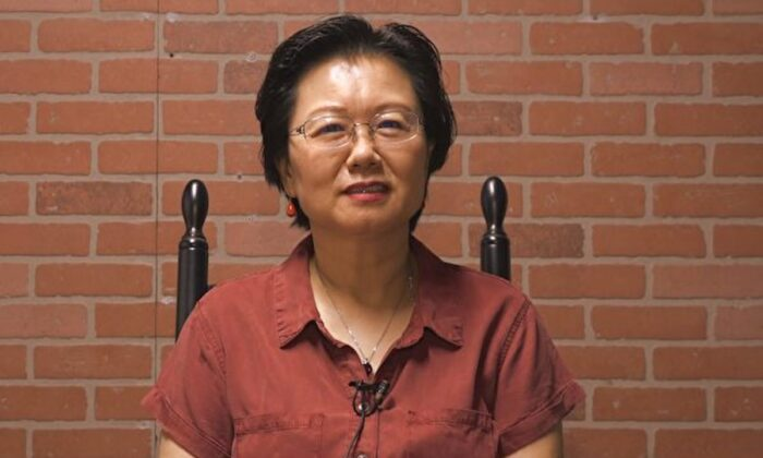 La exempresaria Wang Ruiqin en esta foto de archivo. (The Epoch Times)