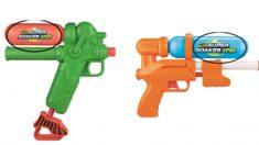 Retiran miles de pistolas de agua Hasbro vendidas en Target por contener plomo