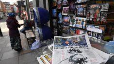 Manifestantes climáticos perturban la distribución de los periódicos británicos